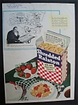 Vintage Ad: 1946 Shredded Ralston Cereal