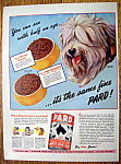 Vintage Ad: 1944 Pard Dog Food