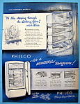 Click here to enlarge image and see more about item 4616: Vintage Ad: 1948 Alice's Adventures In Philcoland