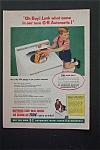 Vintage Ad: 1955  G-E Automatic Washer