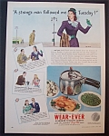 1946  Wear - Ever  Aluminum  Pressure  Cooker