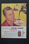 1955 Nescafe Coffee With Woman Pouring Coffee