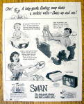 Click to view larger image of 1942 Swan Soap with How Many Ways A Family Uses Soap (Image1)