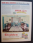 1946  Glidden  Spred  Paints