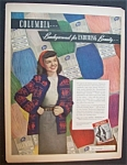 Click here to enlarge image and see more about item 4727: 1946  Columbia  Yarn