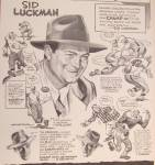 Click to view larger image of 1946 Champ Hats w/Sid Luckman-Chicago Bears' Ace Passer (Image3)