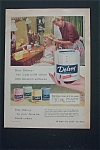 1955 Delsey Toilet Tissue with Mom Fixing Girl's Hair