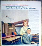 Click to view larger image of 1958 Celotex Ceiling Tile w/Steve Allen & Jayne Meadow (Image2)