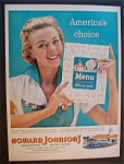 Click here to enlarge image and see more about item 4783: Vintage Ad: 1958 Howard Johnson's Restaurants & Lodges
