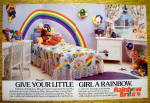 1984 Rainbow Brite with Little Girl's Bedroom