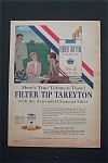 1955 Tareyton Cigarettes with Man & Woman Talking