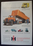 Click here to enlarge image and see more about item 4801: Vintage Ad: 1959  International  Trucks
