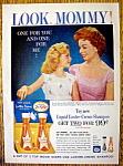 1959 Lustre Creme Shampoo w/Jeanne Crain & Daughter