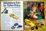 Click to view larger image of 1983 Fisher Price Adventure Kit with Ground Shaker (Image1)