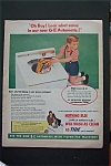 1955 G-E Automatic Washing Machine with Little Boy