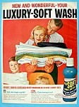 Vintage Ad: 1957 Nu Soft Fabric Softener