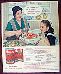 Click to view larger image of 1958 Hunt's Tomato Paste with Woman Holding Ladle (Image1)