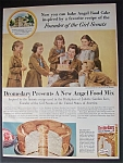 Click here to enlarge image and see more about item 4963: 1956  Dromedary Angel  Food  Mix