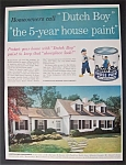 1958  Dutch  Boy  Paints