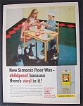 Vintage Ad: 1958 Simoniz Floor Wax