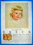 Vintage Ad: 1957 Breck Shampoo