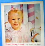 Click to view larger image of 1957 Ivory Snow with Little Baby Girl Smiling (Image2)