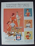 1959 Super Kem Tone Paint w/Kids Watch Man & Woman