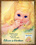 1963 Northern Toilet Tissue with Girl with Blond Hair