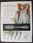 1953  Wallace  Sterling  Silverware