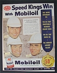 Click here to enlarge image and see more about item 5134: 1953 Mobil Oil with Speed Kings