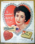 Click to view larger image of 1953 Whitman's Sampler with Elizabeth Taylor (Image1)