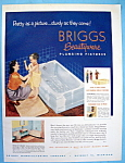 Click to view larger image of Vintage Ad: 1952 Briggs Beautyware Plumbing Fixtures (Image1)