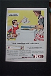 Vintage Ad: 1955 Norge Time Line Automatic Washer