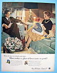 Click here to enlarge image and see more about item 5211: Vintage Ad: 1956 Beer Belongs By Douglas Crockwell