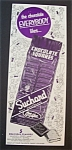 Vintage Ad: 1952 Suchard Milk Chocolate