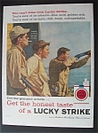 1959  Lucky  Strike  Cigarettes