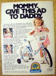 Click to view larger image of 1984 Murray Rainbow Brite Bicycle/Bike with Little Girl (Image1)