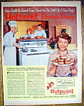 Click to view larger image of 1953 Hotpoint Range with Ozzie & Harriet Nelson (Image1)