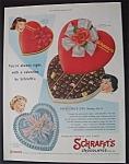 Vintage Ad: 1955 Schrafft's Chocolates