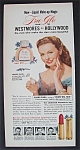 1951 Tru-Glo Liquid Make-Up with Star Jeanne Crain