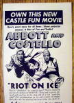 Click to view larger image of 1949 Castle Films with Abbott & Costello (Riot On Ice) (Image2)