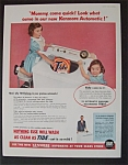 1955 Kenmore Automatic & Tide Detergent