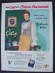 Vintage Ad: 1951 Lux Soap with Deborah Kerr