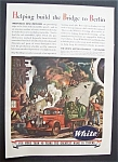 Click here to enlarge image and see more about item 5521: Vintage Ad: 1943  White  Motor  Company