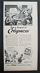 1942 Kellogg Rice Krispies with 3 Little Men