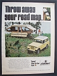 Click here to enlarge image and see more about item 5657: Vintage Ad: 1970 Jeep - The  2 - Car Car