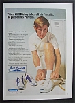 1972  Jack  Purcell  Shoes  with  Cliff  Richey