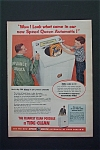 Vintage Ad: 1956  Speed Queen Automatic Washer