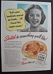 1940 Kellogg's Corn Flakes with a Frantic Woman