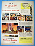 Vintage Ad: 1940 Southern Pacific